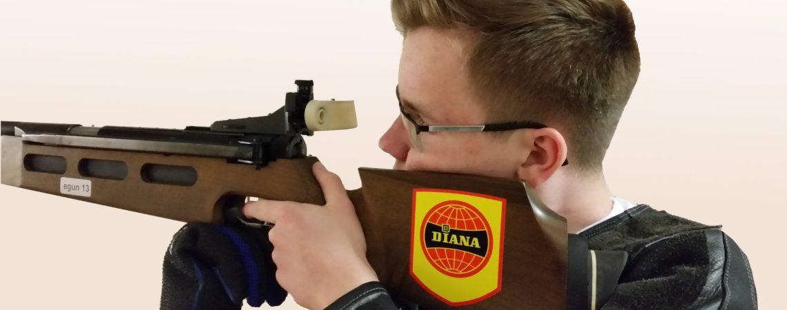 Luftgewehrtraining für Jugendliche