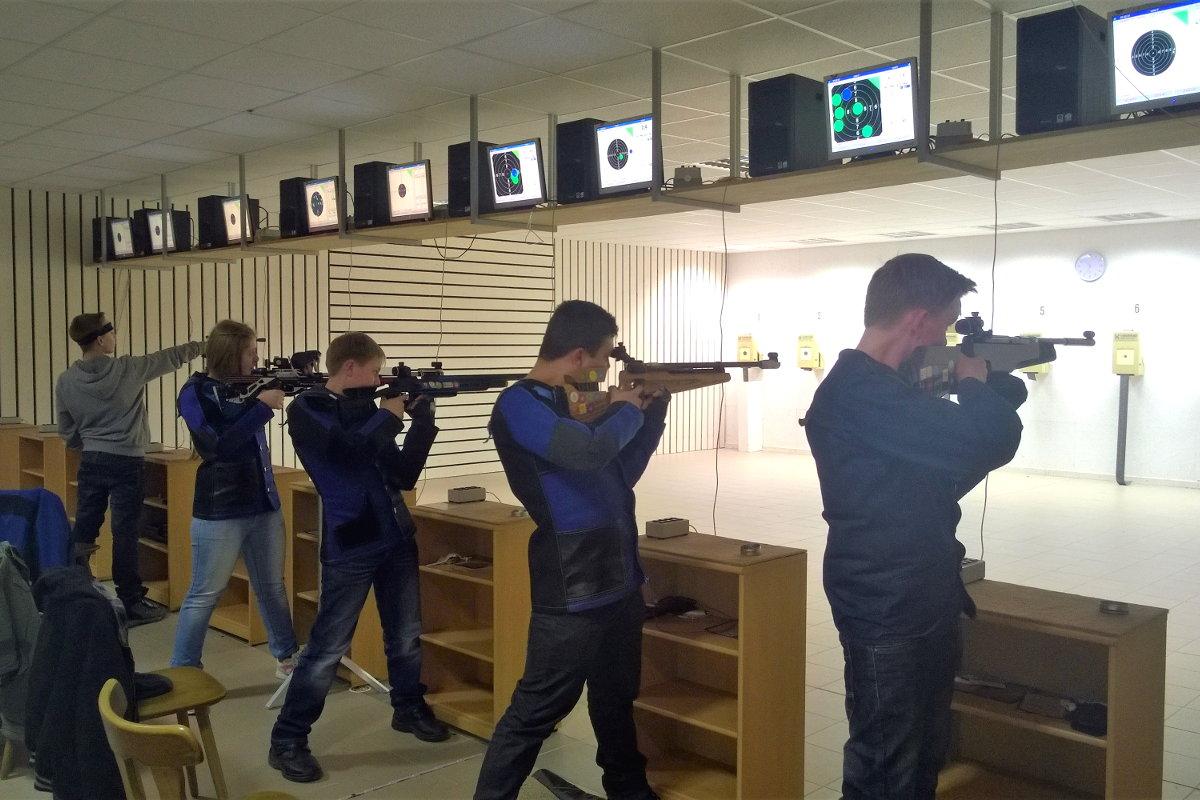 Schießtraining für die Jugend
